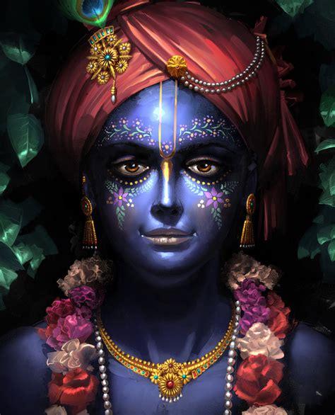 blue krishna wallpaper krishna by cherdak on deviantart