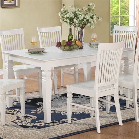 weston rectangular dining table with 18 in butterfly leaf