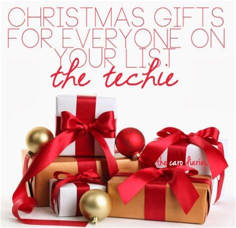 popular holiday gifts for techies gifts for the techie the caro diaries