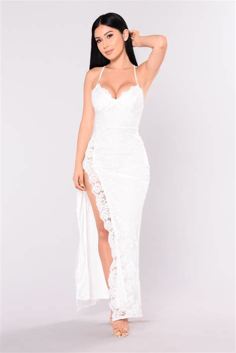 Tokyo Dress by A In Tokyo Lace Dress White