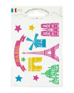 Decor Blog stickers quot monuments de paris quot editions a leconte