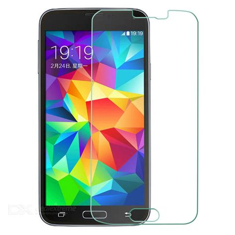 Tempered Glass Lummax For Samsung Galaxy S5 tempered glass screen guard for samsung galaxy s5 transparent free shipping dealextreme