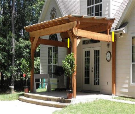 26 Best Images About Attached Pergola Gazebos On Building Plans For Gazebos And Pergolas