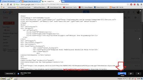 membuat web dengan google drive membuat google drive menjadi web host