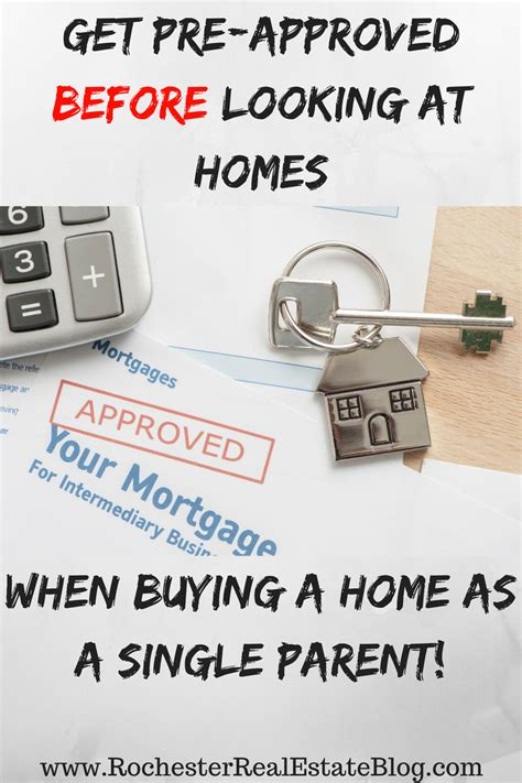how to get pre approved for a house loan how to buy a home as a single parent