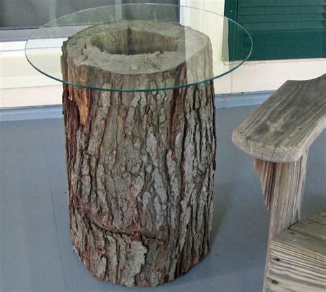 tree stump tables in manchester ct