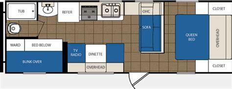 avenger travel trailer floor plans 2012 prime time avenger 26bh photos details brochure