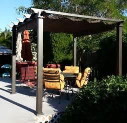 Ideas Design For Hton Bay Gazebo 9 1 2 Ft X 9 1 2 Ft Steel Pergola With Canopy