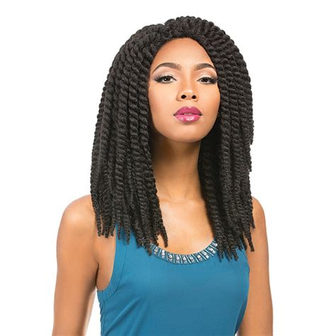 Sensationnel African Collection Synthetic Crochet Wig