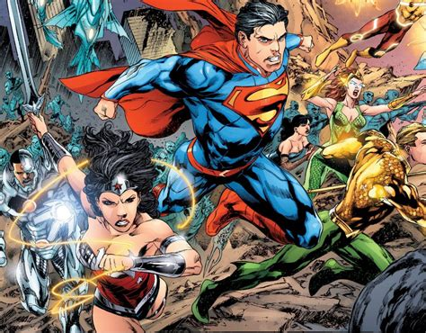 The New 52 From To Dc Rebirth The Wave Of Dc S Renaissance