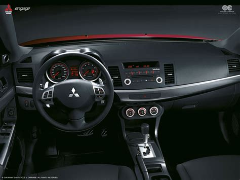 mitsubishi lancer 2008 interior wallpaper 1024x768 19138
