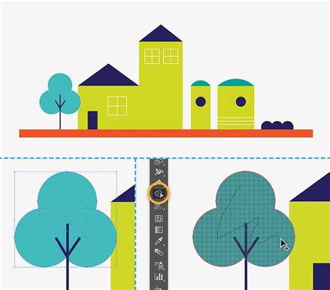 Drawing Using Shapes by How To Draw Buildings In Illustrator Adobe Illustrator