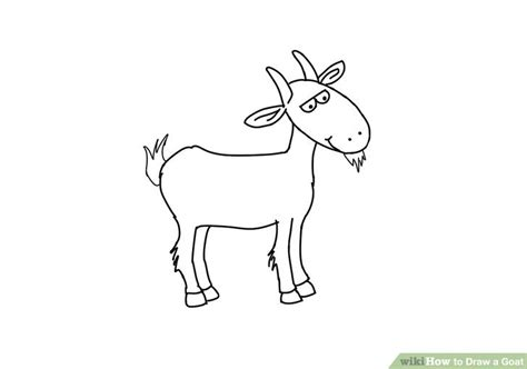 how to draw new year goat how to draw a goat with pictures wikihow