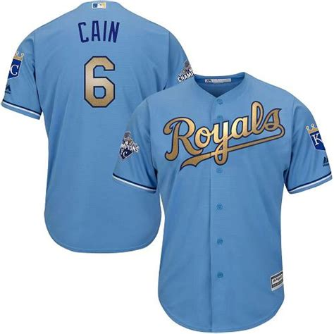 light blue mlb jersey light blue lorenzo cain authentic jersey youth 6