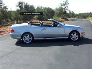 Mercedes Clk430 Convertible 2001 Mercedes Clk430 Base Convertible 2 Door 4 3l