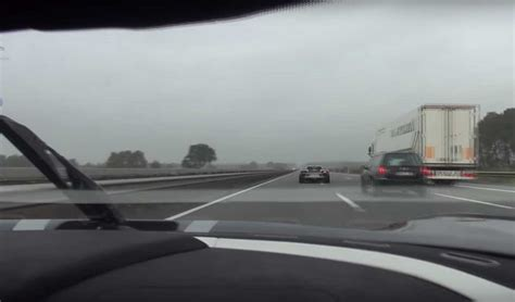 Koenigsegg Autobahn Koenigsegg Agera R Races Porsche 918 Spyder On Autobahn