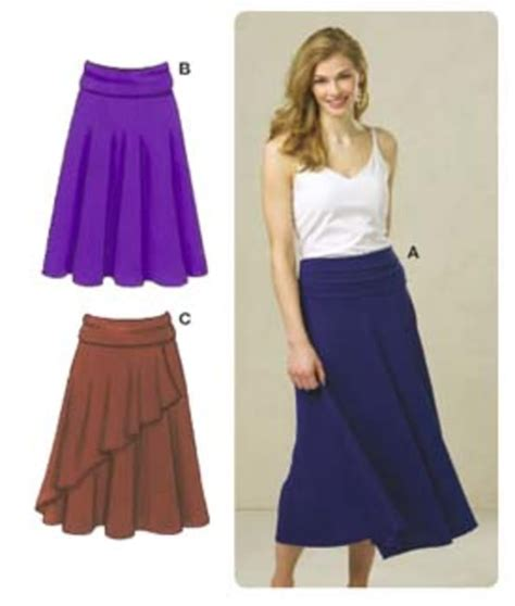Knit Top A Line Skirt skirt patterns discount designer fabric fabric
