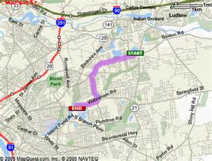 Car Rental Boston Rd Springfield Ma Driving Directions From 1356 Boston Rd Springfield Ma To