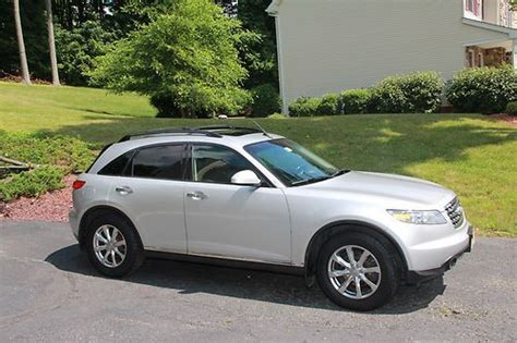 infiniti fx for sale by owner sell used clean loaded silver fx 35 up for sale by