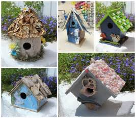 Birdhouse crafts 5 ways to create a birdhouse you will love