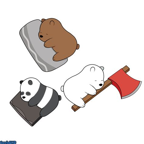 Panda Panpan We Bare Bears Iphone Hp we bare bears wallpapers wallpaper cave