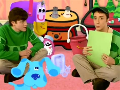 blues clues picture steve left the show because of balding business insider