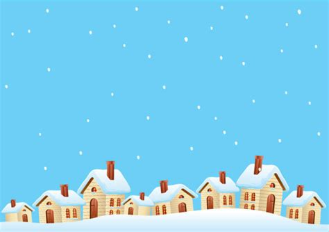 cartoon house design cartoon house and snow design vector set free vector in encapsulated postscript eps