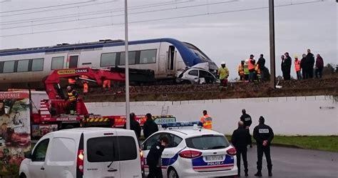 lorient collision entre un ter et une voiture un mort