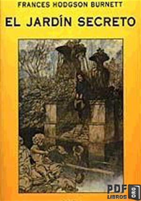 el jardin secreto libro pdf gratis