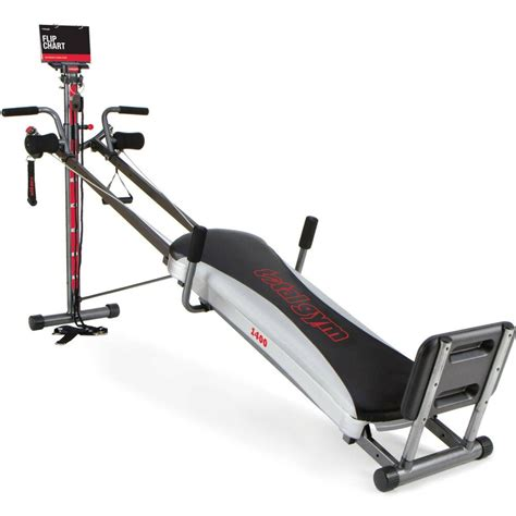 total 1400 deluxe home fitness exercise machine equipment with workout dvd ebay