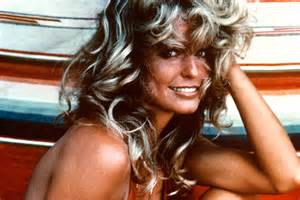 fara faucet farah fawcett swimsuit photo was almost completely