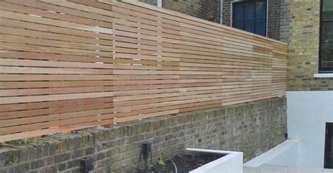 cedar fence panels natural slatted fence panels essex