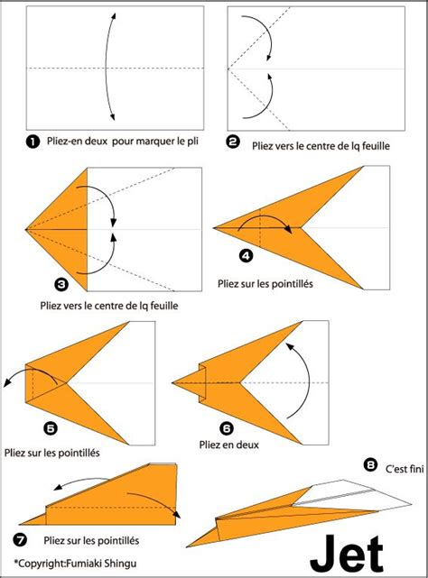 Origami Avion - 25 best ideas about pliage avion on pliage