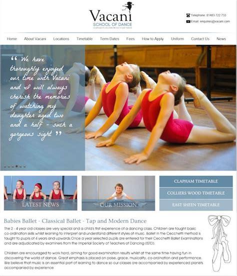 templates for dance website 27 best dance website templates images on pinterest