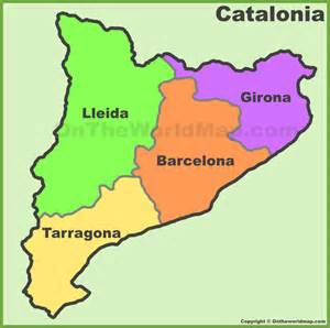catalonia map related keywords amp suggestions catalonia