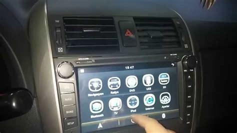 Lu Rem Lu Stop Toyota Oem toyota corolla multimedya navigasyon cihazı ıtım