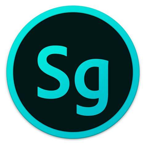 S G Adobe Sg Icon Adobe Cc Circles Iconset Killaaaron