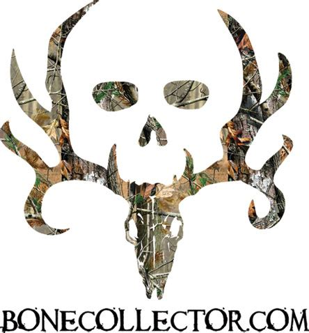 Bone Collector Decal Camo Camouflage Camo Bone Collector