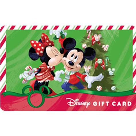 Can You Link Disney Gift Cards To Magic Band - your wdw store disney collectible gift card christmas mistletoe mickey minnie