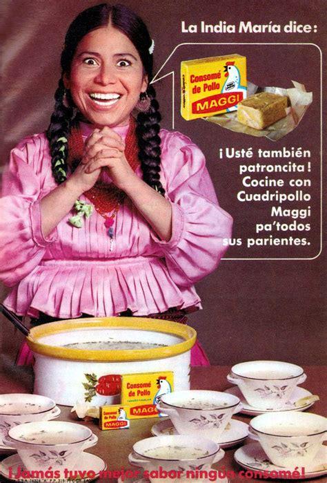 imagenes memes de la india maria anuncios de m 233 xico consom 233 de pollo maggi agosto 1971