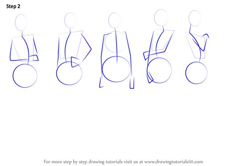 how to draw bodies sketch step by step www imgkid the
