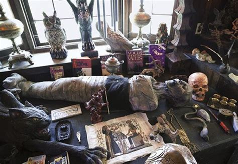 haunted artifacts in the warrens occult museum in