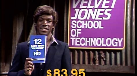 velvet jones     pimp  saturday night  nbccom