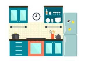 Interior Decoration Kitchen free kitchen illustration download free vector art