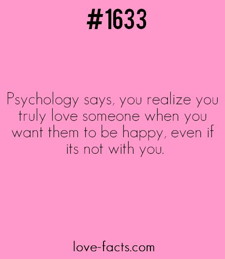 fact 1633psychology says you realize you truly
