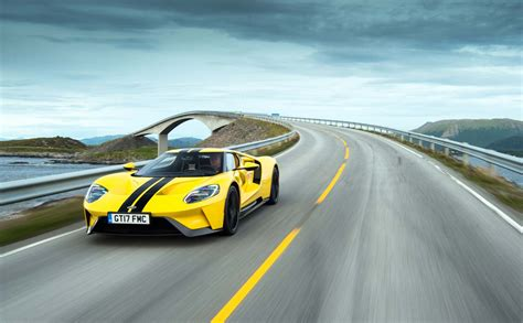 Road Records Proauto Ford Gt Na Atlantic Road U Norveškoj Sa Ostvarenim Novim Rekordom
