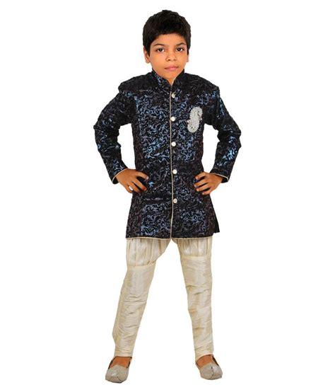 vastramay blue indo western wear for boys buy vastramay