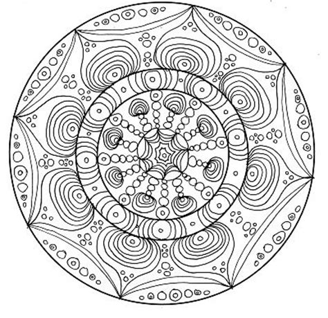 2142 Best Images About Drawing Mandalas On Pinterest Complex Mandala Coloring Pages Printable