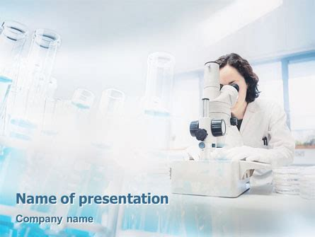 laboratory design and layout ppt laboratory microscope powerpoint template backgrounds