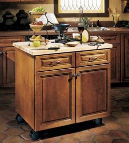 kraftmaid kitchen island storage solutions details floating island base